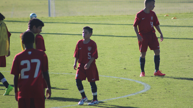 Five standouts from the U.S. U14 scrimmages