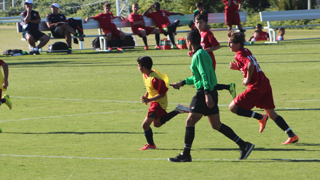 U.S. U14 BNT finishes up first camp
