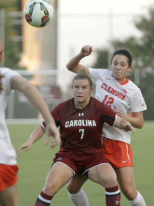 south carolina clemson women's soccer