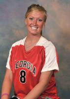 Geogia women's college soccerp player Natalie Farley.