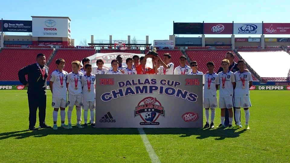 Champions crowned at Dallas Cup   Club Soccer   Youth Soccer