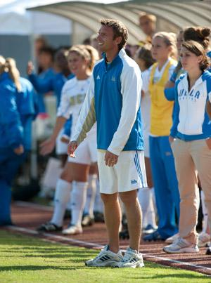 ucla women's college soccer coach bj snow