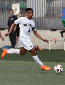 jacori hayes wake forest soccer