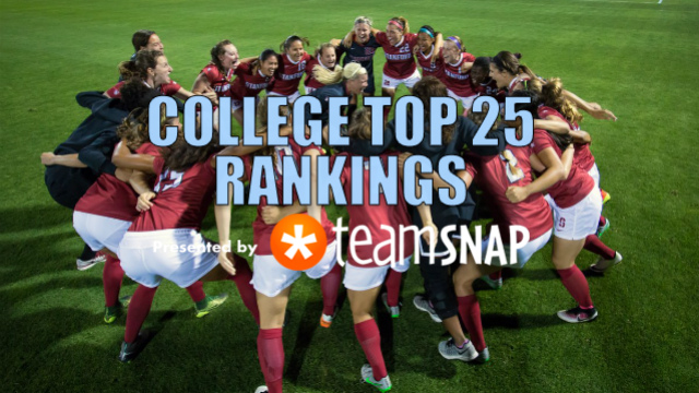 TDS Division I Women's Top 25: Aug. 29