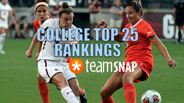 TDS Division I Women's Top 25: Sept. 5