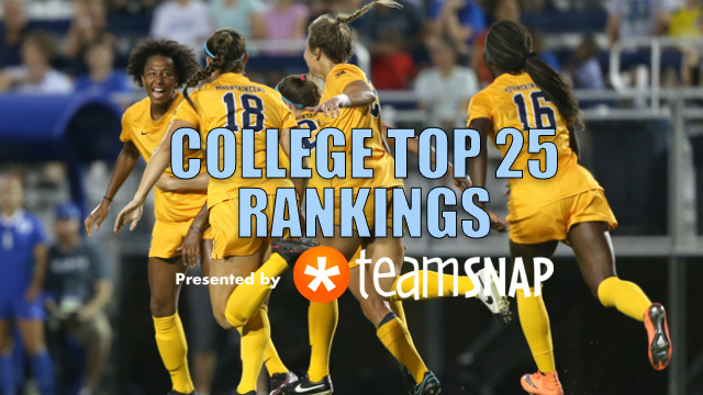 TDS Division I Women's Top 25: Sept. 12
