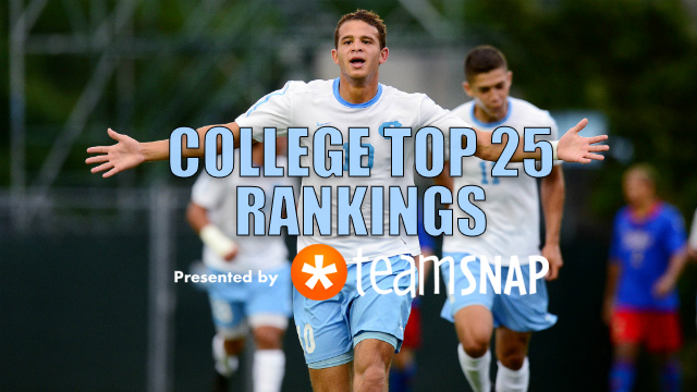 TDS Division I Men's Top 25: Sept. 12