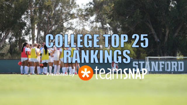 TDS Division I Women's Top 25: Sept. 19
