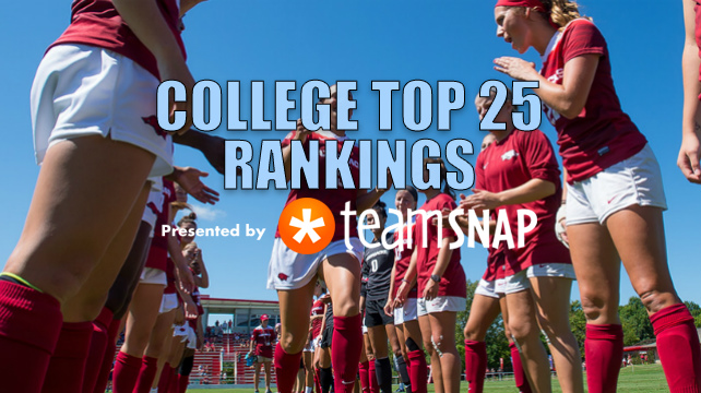 TDS Division I Women's Top 25: Sept. 26