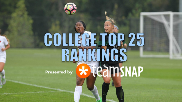 TDS Division I Women's Top 25: Oct. 3