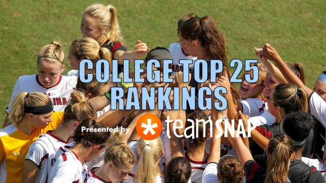 TDS Division I Women's Top 25: October 10