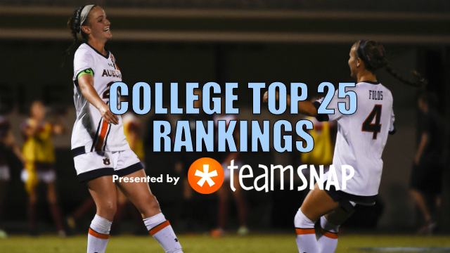 TDS Women's Division I Top 25: Oct. 17
