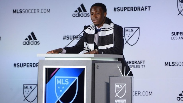 MLS draft notebook: Danladi goes No. 1