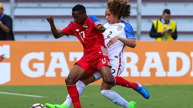U20 MNT falls down in 1-0 loss to Panama