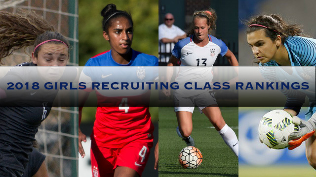 2018 Girls Recruiting Rankings April update