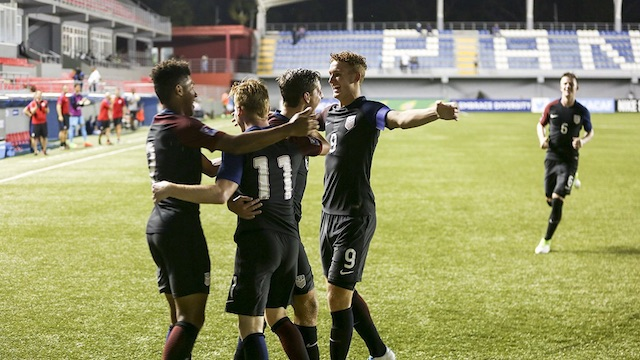 U17 MNT takes historic 4-3 win over Mexico
