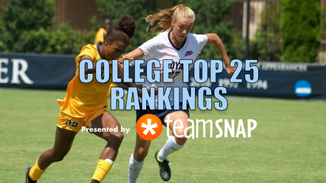 TDS Women's Division I Top 25: August 21