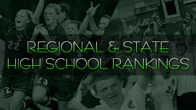 HS: Fall state, region rankings, Sept. 25