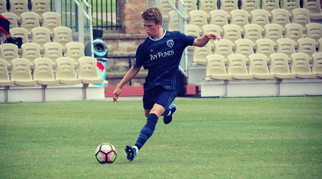 Boys: Sporting KC mid talks UNC pledge