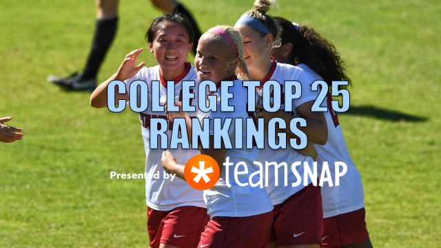 TDS Women's Division I Top 25: Oct. 30