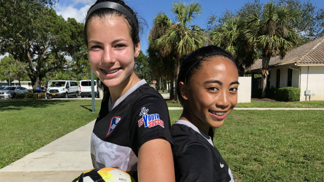 West ODP teammates combine off the field