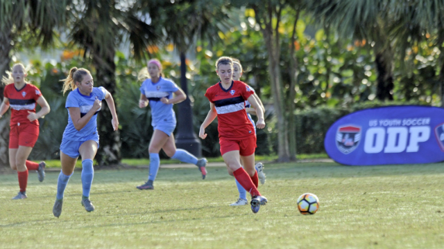 US Youth Girls ODP Interregional photos
