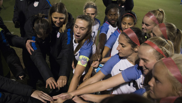 U.S. U20 WNT in Florida for training camp