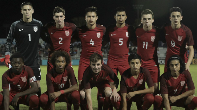 U.S. U17s top U16s in intrasquad scrimmage