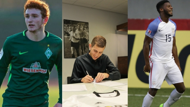 Pro Prospects: American trio signs abroad
