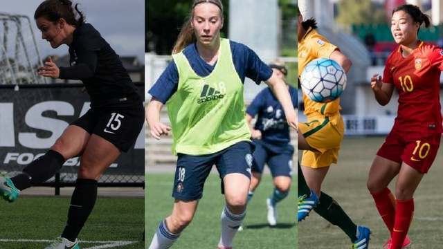 Women's DI International signees of note