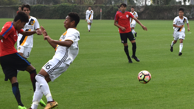 U16 BNT beats Galaxy, loses to Xolos