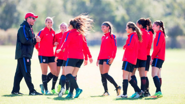 U17 WNT heads to Florida for training camp