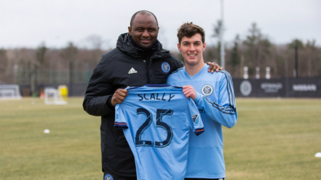 NYCFC signs Scally to homegrown contract