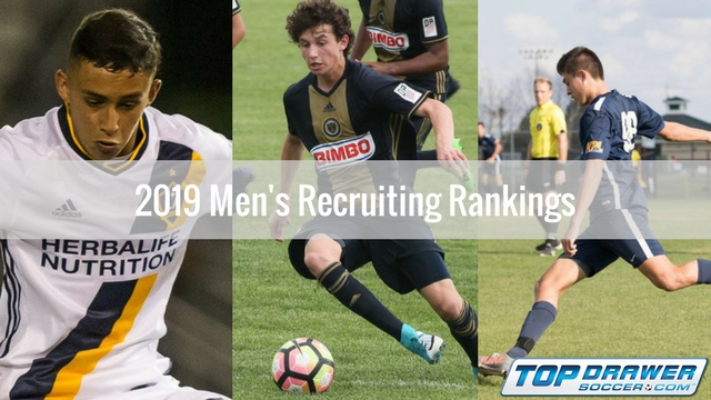 2019 Men's Recruiting Rankings: April | Club Soccer | Youth