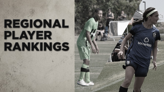 Girls Regional Rankings: Class of 2020