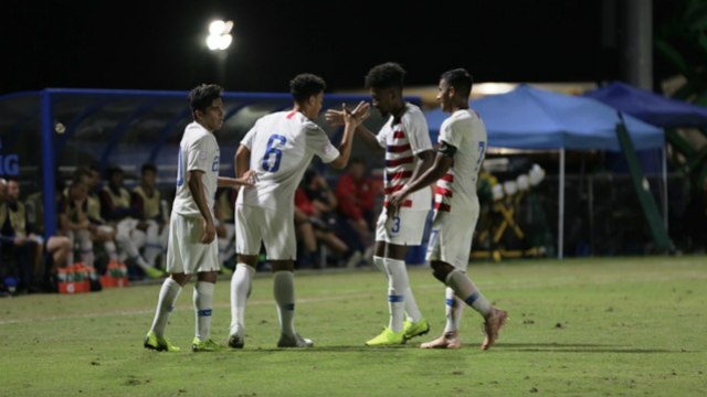 U.S. U20s beat St. Vincent & the Grenadines