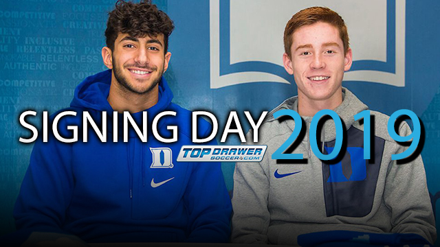 2019 early signing period opens next week