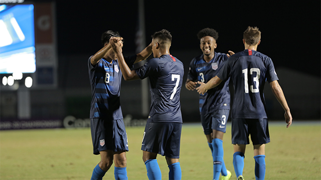 U.S. U20 MNT beats Suriname to advance