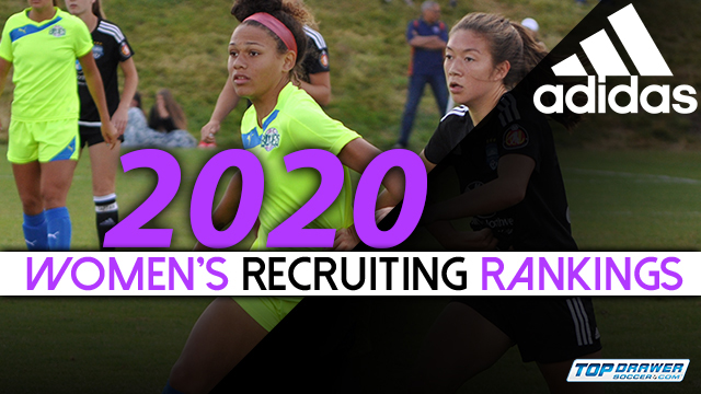 Top College Players 2020.2020 Women S Recruiting Rankings Update Club Soccer Youth Soccer