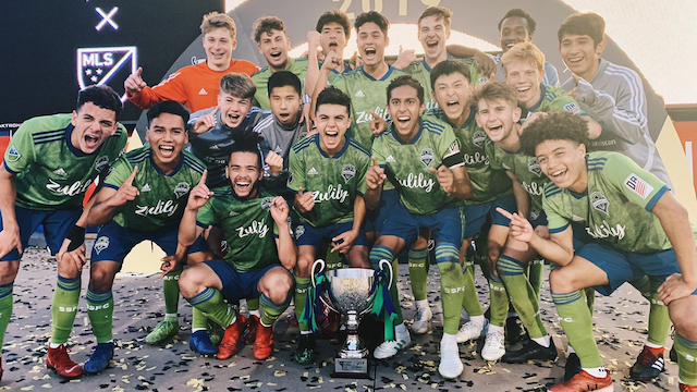 Sounders win the 2019 GA Cup Championship