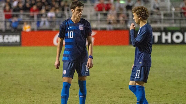 U17 qualifying roster positional breakdown