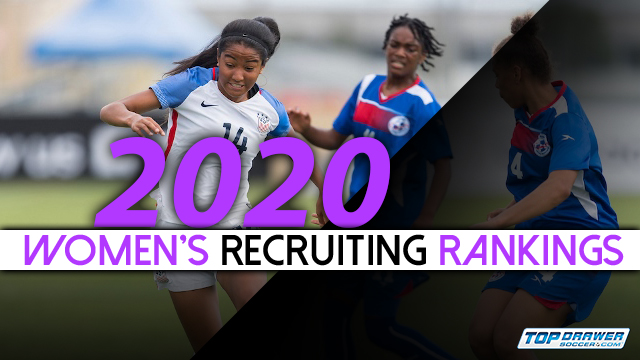 2020 Women's Recruiting Rankings update | Club Soccer | Youth Soccer