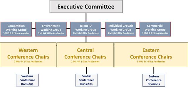 mls development structure