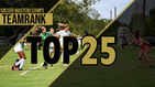 SoccerMasters TeamRank Top 25 - Girls
