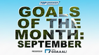 Goals of the Month: September