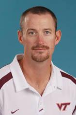 Mens college soccer coach from Virginia Tech Mike Brizendine.