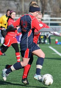 girls club soccer ohio elite maranda melton