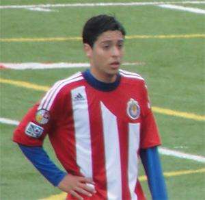 boys youth club soccer player stevie rodriguez
