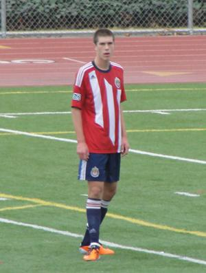 boy's soccer chivas usa ben spencer