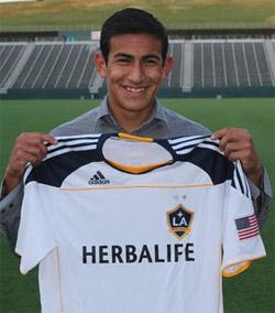 la galaxy boys club soccer player jose villarreal